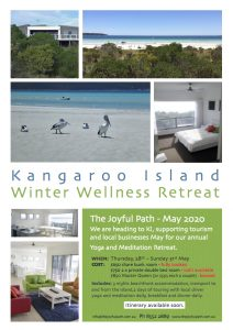 Kangaroo Island Retreat - The Joyful Path